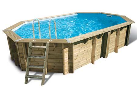 Piscine bois sunwater 4 90 x 3 00 x 1 20 ubbink for Accessoires piscine x water