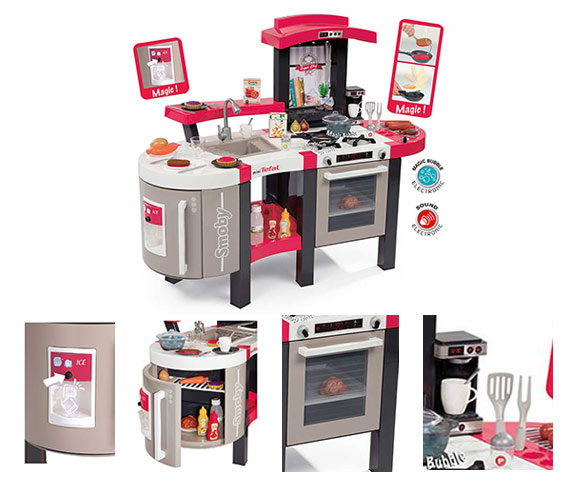 cuisine enfant smoby mod le super chef deluxe t fal. Black Bedroom Furniture Sets. Home Design Ideas