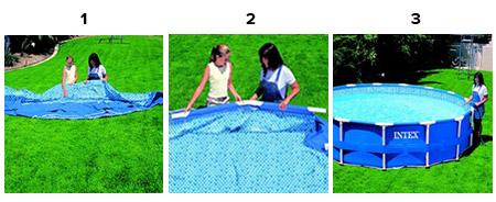 piscine tubulaire ronde intex 3 66 x 0 76 m prix mini. Black Bedroom Furniture Sets. Home Design Ideas