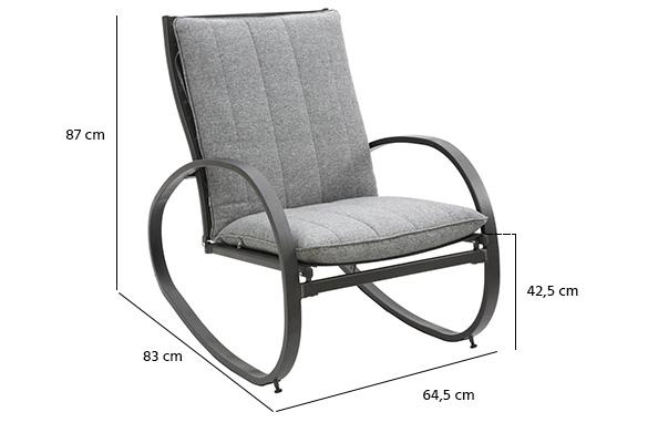 fauteuil de jardin bascule nevada. Black Bedroom Furniture Sets. Home Design Ideas