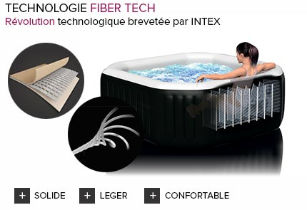 spa gonflable intex purespa octogonal jets 6 places. Black Bedroom Furniture Sets. Home Design Ideas