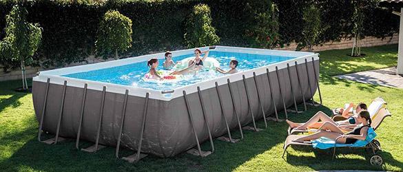 Filtre a sable pompe 6 m h pour piscine intex jardideco - Calcul filtration piscine ...