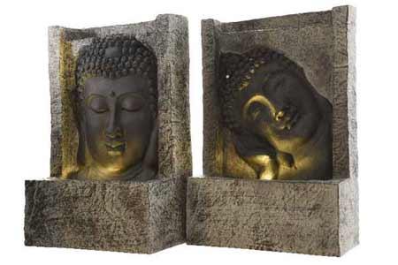 fontaine de jardin kaemingk mod le bouddha petit prix. Black Bedroom Furniture Sets. Home Design Ideas