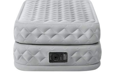 matelas gonflable intex supreme 2 places avec fiber tech petit prix. Black Bedroom Furniture Sets. Home Design Ideas