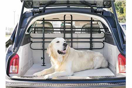 Grille de s curit universelle voiture pour chien jardideco - Grille pour chien en voiture ...