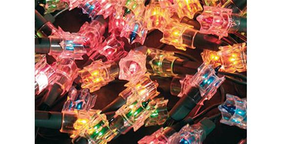 Guirlande lumineuse led noel clignotante lampe jardideco - Guirlande lumineuse de noel ...