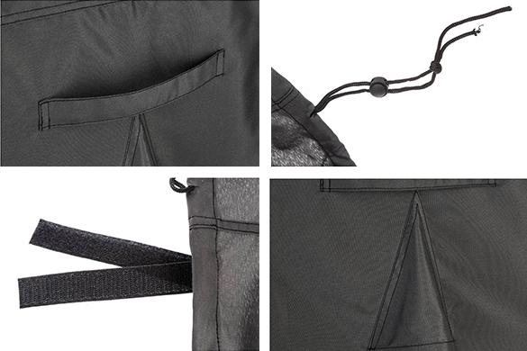 housse de protection pour fauteuil de jardin hesperide taille au choix. Black Bedroom Furniture Sets. Home Design Ideas