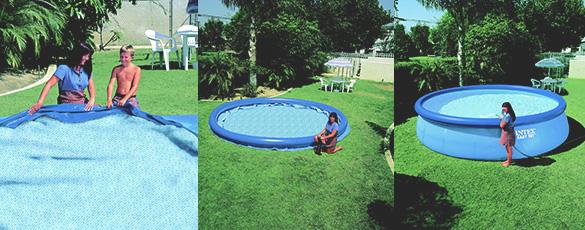 piscine autoport e intex 3 66 x 0 76 m pas cher jardideco. Black Bedroom Furniture Sets. Home Design Ideas