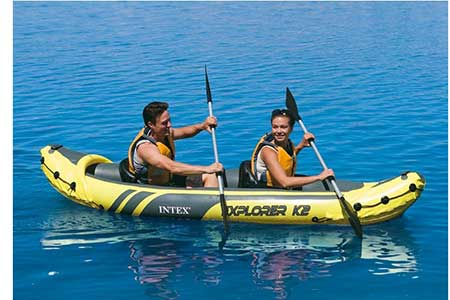 kayak gonflable intex 2 places explorer