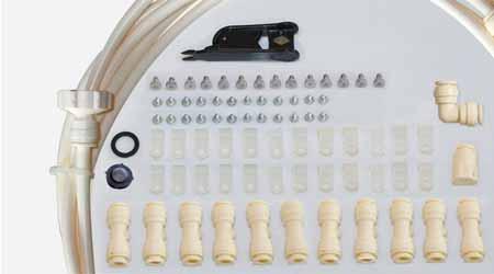 kit complet brumisateur de terrasse o 39 fresh prix mini. Black Bedroom Furniture Sets. Home Design Ideas