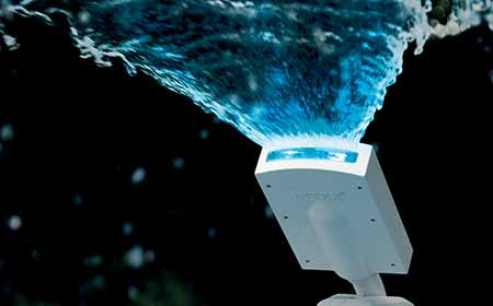 Fontaine pour piscine hors sol intex led multicolore for Lampe pour piscine