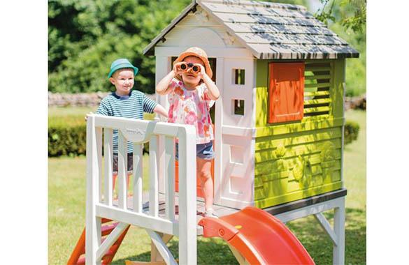 cabane pour enfant en pvc mod le pilotis smoby. Black Bedroom Furniture Sets. Home Design Ideas