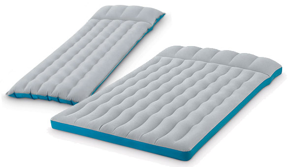 matelas gonflable de camping mod le classique 1 ou 2 places intex. Black Bedroom Furniture Sets. Home Design Ideas