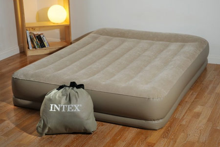 matelas gonflable intex 2 personnes mide rise jardideco. Black Bedroom Furniture Sets. Home Design Ideas