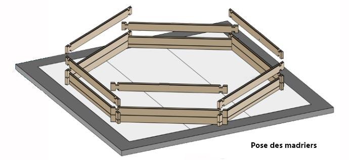 piscine bois sunbay braga 8 x 4 x 1 46 m filtration et accessoires. Black Bedroom Furniture Sets. Home Design Ideas
