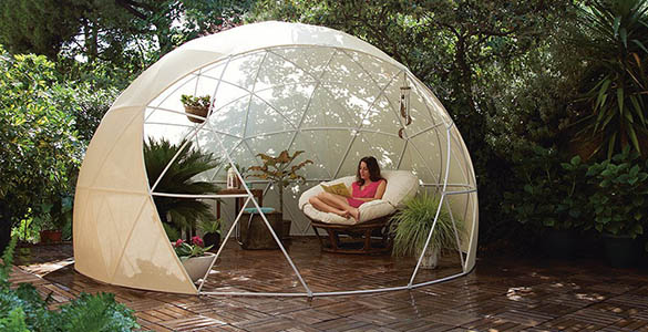 toile moustiquaire pour abri garden igloo jardideco. Black Bedroom Furniture Sets. Home Design Ideas