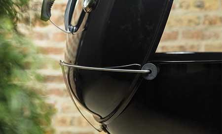 Barbecue weber master touch gbs 57 cm chemin e d 39 allumage - Nettoyage grille barbecue weber ...