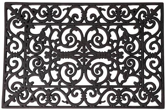 paillasson tapis caoutchouc 70 x 45 cm jardideco. Black Bedroom Furniture Sets. Home Design Ideas