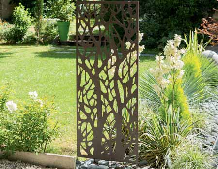 Best brise vue jardin aluminium pictures design trends for Sujet deco jardin