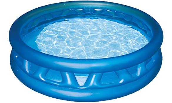 piscine gonflable soft side pool intex jardideco. Black Bedroom Furniture Sets. Home Design Ideas