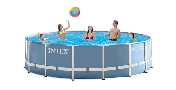 piscine tubulaire ronde intex 3 66 x 1 22 m filtration prix mini. Black Bedroom Furniture Sets. Home Design Ideas