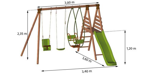 modele de balancoire en bois modele de balancoire en bois good source un air de jeu pour les. Black Bedroom Furniture Sets. Home Design Ideas
