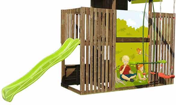 portique bois balan oire p 39 tit chatenay nat et choc. Black Bedroom Furniture Sets. Home Design Ideas