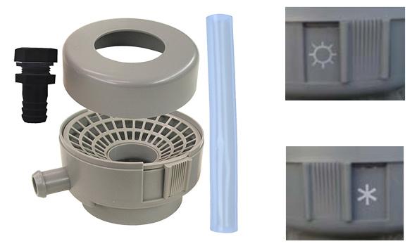 r cup rateur d 39 eau de pluie jarre 500l kit raccord ch neau. Black Bedroom Furniture Sets. Home Design Ideas