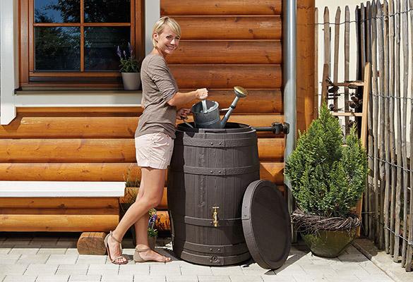 r cup rateur d 39 eau de pluie garantia mod le tonneau. Black Bedroom Furniture Sets. Home Design Ideas