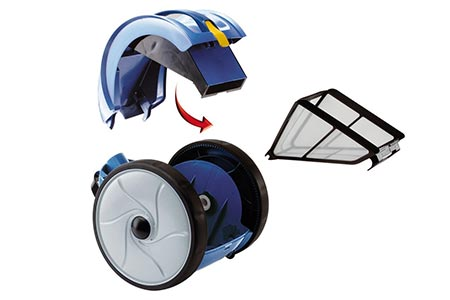 robot piscine zodiac nettoyeur vortex 1 jardideco. Black Bedroom Furniture Sets. Home Design Ideas