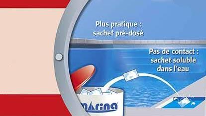Sachets eau verte et trouble 2 kg marina piscine jardideco for Eau de piscine trouble