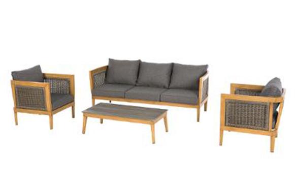 salon de jardin aluminium hesperide mod le v rone prix mini. Black Bedroom Furniture Sets. Home Design Ideas