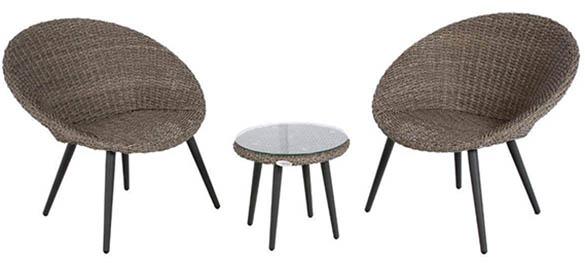 salon de jardin hesperide en r sine tress e mod le canberra. Black Bedroom Furniture Sets. Home Design Ideas