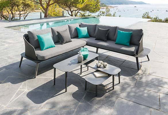 salon de jardin aluminium hesperide mod le seville prix mini. Black Bedroom Furniture Sets. Home Design Ideas