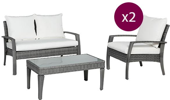awesome salon de jardin hesperide cilaos gallery amazing. Black Bedroom Furniture Sets. Home Design Ideas