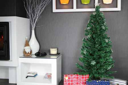 sapin de noel artificiel pas cher vert fibre optique. Black Bedroom Furniture Sets. Home Design Ideas