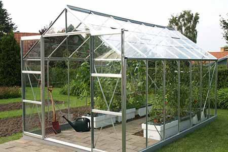 serre en verre pour jardin mod le uranus 11 45 m lams. Black Bedroom Furniture Sets. Home Design Ideas