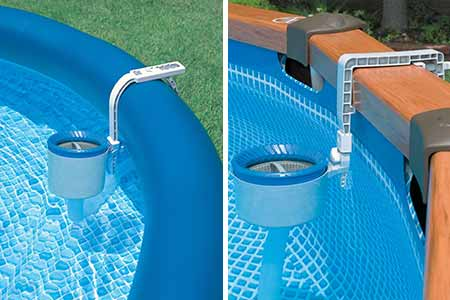 Skimmer de surface am lior pour piscine intex jardideco for Skimmer pour piscine