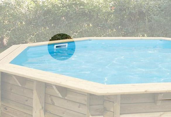 Skimmer de surface pour piscine bois ubbink tous mod les for Skimmer pour piscine hors sol bois