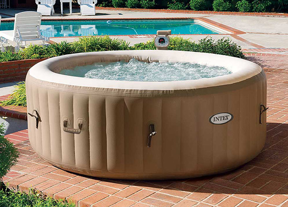 pack spa gonflable intex 4 places abri garden igloo prix imbattable. Black Bedroom Furniture Sets. Home Design Ideas