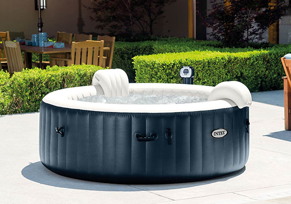 entretien jacuzzi gonflable amazing spa gonflable intex personnes jets massage achat spa. Black Bedroom Furniture Sets. Home Design Ideas