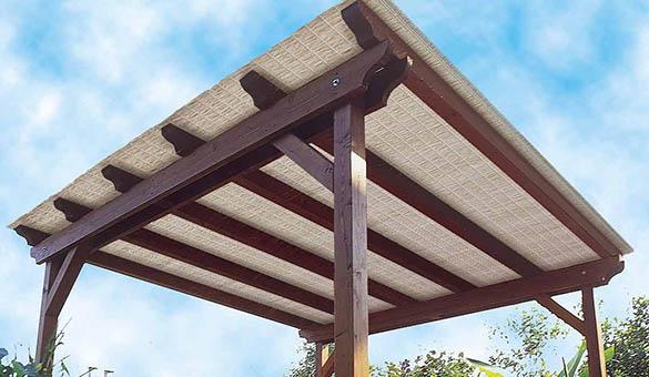Solution pour ombrager terrasse en plein soleil elle peut aussi tre utilise devant les baies - Solution pour ombrager terrasse en plein soleil ...