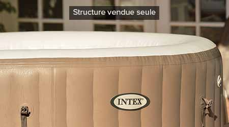 structure fiber tech du spa gonflable 4 places bulles jardideco. Black Bedroom Furniture Sets. Home Design Ideas