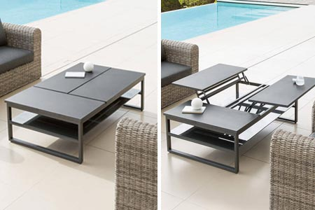 table basse hesp ride pour salon de jardin mod le san rafael. Black Bedroom Furniture Sets. Home Design Ideas