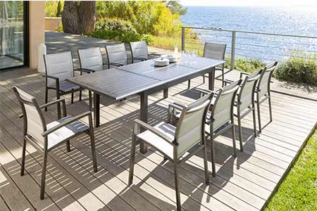 Emejing Table De Jardin Extensible Azua Ideas - Awesome Interior ...