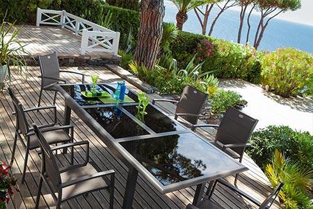 Best Salon De Jardin Azua Taupe Contemporary - Amazing House ...
