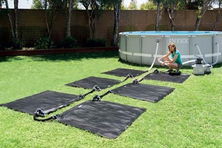 Chauffage tapis solaire pour piscine jusqu 39 30 m jardideco for Chauffer piscine hors sol