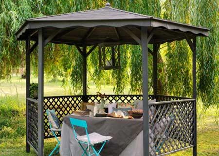 pergola ronde bois id es d coration int rieure. Black Bedroom Furniture Sets. Home Design Ideas