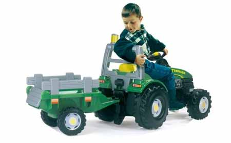 tracteur p dales enfant tgm stronger smoby jardideco. Black Bedroom Furniture Sets. Home Design Ideas