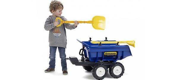 tractopelle enfant falk new holland t8 excavatrice dumper. Black Bedroom Furniture Sets. Home Design Ideas
